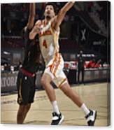 Atlanta Hawks v Cleveland Cavaliers Canvas Print