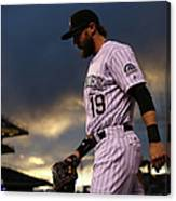 Charlie Blackmon Canvas Print