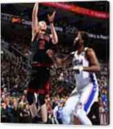 Chicago Bulls v Philadelphia 76ers Canvas Print