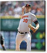 Chris Tillman Canvas Print