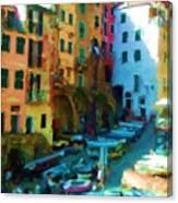 Cinque Terre Canvas Print