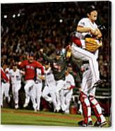 David Ross and Koji Uehara Canvas Print
