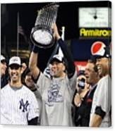 Derek Jeter, Mariano Rivera, and Jorge Posada Canvas Print