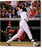 Dj Lemahieu, Carlos Gonzalez, and Randy Choate Canvas Print