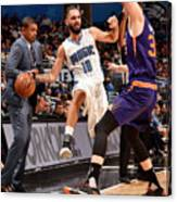 Evan Fournier Canvas Print
