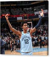 Houston Rockets v Memphis Grizzlies Canvas Print