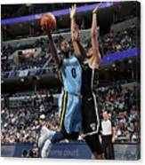 Jamychal Green Canvas Print