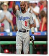 Jimmy Rollins Canvas Print