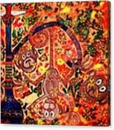 Jinga Monkeys Canvas Print