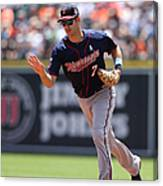 Joe Mauer Canvas Print