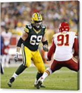 Kansas City Chiefs v Green Bay Packers Canvas Print