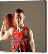 Lauri Markkanen Canvas Print