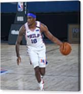 Memphis Grizzlies v Philadelphia 76ers Canvas Print