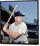 Mickey Mantle Canvas Print