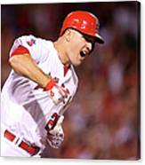 Mike Trout Canvas Print