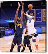 Minnesota Timberwolves v Golden State Warriors Canvas Print