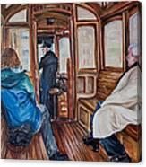 The Tram Canvas Print