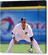 Victor Martinez Canvas Print