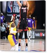2020 NBA Finals - Los Angeles Lakers v Miami Heat Canvas Print