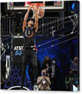 2021 NBA All-Star - AT&T Slam Dunk Contest Canvas Print