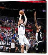 2021 NBA Playoffs - Dallas Mavericks v LA Clippers Canvas Print