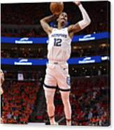 2021 NBA Playoffs - Memphis Grizzlies v Utah Jazz Canvas Print