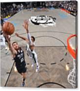 2021 NBA Playoffs - Milwaukee Bucks v Brooklyn Nets Canvas Print