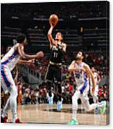 2021 NBA Playoffs - Philadelphia 76ers v Atlanta Hawks Canvas Print