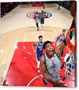 2021 NBA Playoffs - Philadelphia 76ers v Washington Wizards Canvas Print