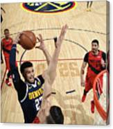 Jamal Murray Canvas Print