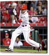 Billy Hamilton Canvas Print