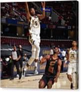 Indiana Pacers v Cleveland Cavaliers Canvas Print