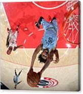 Memphis Grizzlies v Washington Wizards Canvas Print