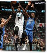 Michael Kidd-gilchrist Canvas Print