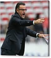 OGC Nice v AS Saint-Etienne - Ligue 1 Canvas Print
