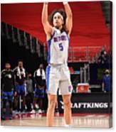 Orlando Magic v Detroit Pistons Canvas Print