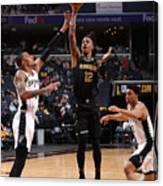 Play-In Tournament - San Antonio Spurs v Memphis Grizzlies Canvas Print
