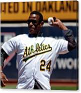 Rickey Henderson Canvas Print
