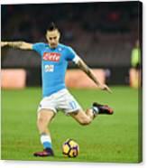 SSC Napoli v US Sassuolo - Serie A Canvas Print