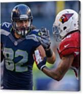 Arizona Cardinals v Seattle Seahawks Canvas Print