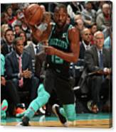 Kemba Walker Canvas Print