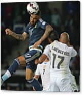 Argentina v Uruguay: Group B - 2015 Copa America Chile Canvas Print