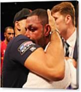 Boxing at O2 Arena Canvas Print