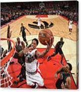 Demar Derozan Canvas Print
