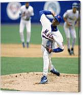 Dwight Gooden Canvas Print