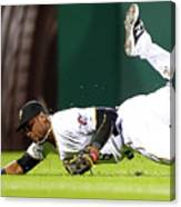 Starling Marte Canvas Print