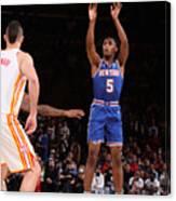 2021 NBA Playoffs - Atlanta Hawks v New York Knicks Canvas Print