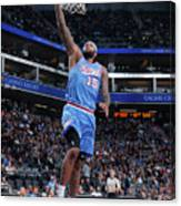 Demarcus Cousins Canvas Print