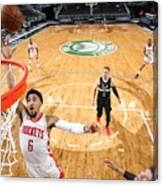 Houston Rockets v Milwaukee Bucks Canvas Print
