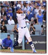Justin Turner Canvas Print